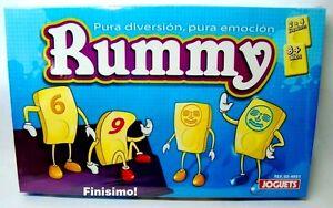Rummy Pura Diversion Pura Emocion Juego De Mesa Nuevo Sellado