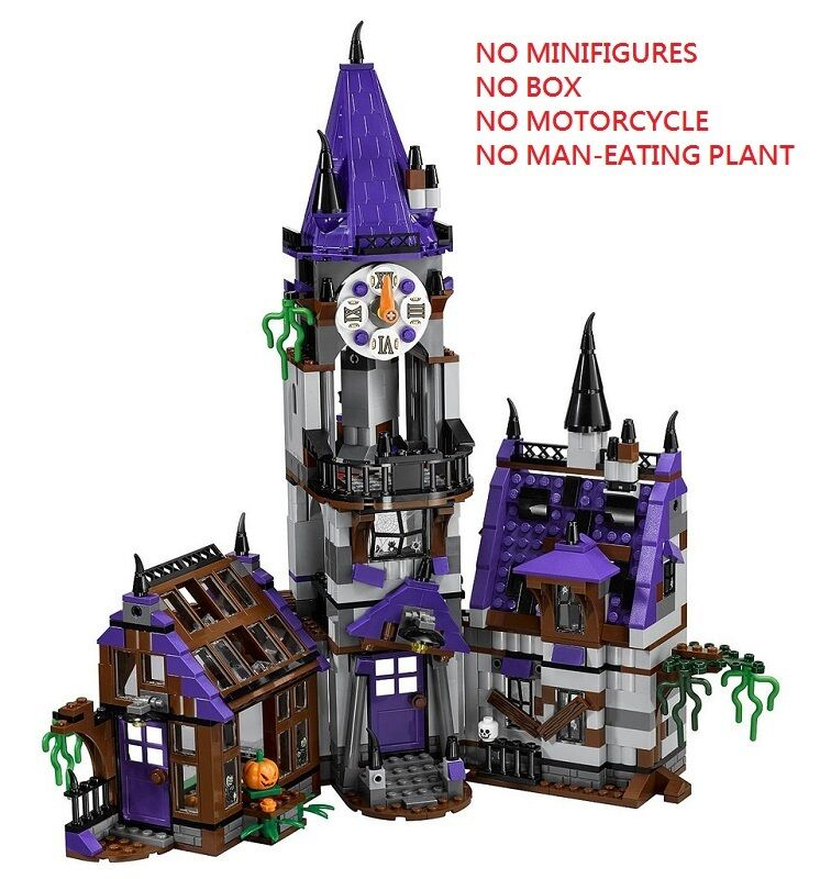 LEGO Scooby Doo 75904 Mystery Mansion House/Castle Only No Minifigures/Box READ