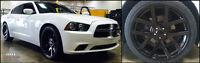 22 Srt 10 Style Wheels Dodge Ram 1500 Gloss Black Rims Sale 24 5x139.7 Durango