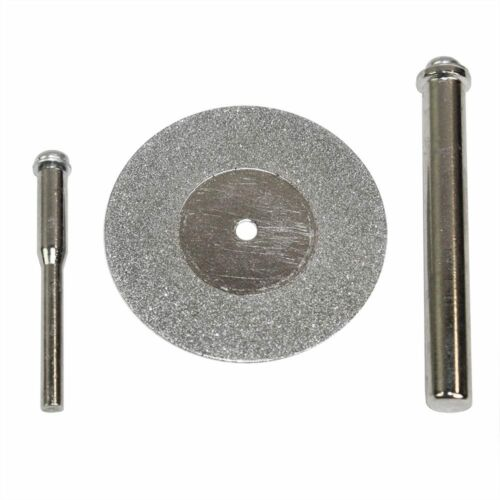 "Big Horn 19393 1-5//8-Inch 100 Grit Diamond Wheel with 1//4/"" /& 1//8"" Shank Mandrel"
