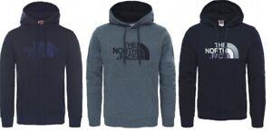 The-North-Face-Drew-Peak-Hoodie-Overhead-Pullover-Sweatshirt-Black-Grey-Navy