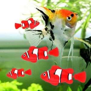 1pc Robot Fish Activated Toy Robotic Pet Gift Fish Tank Aquarium