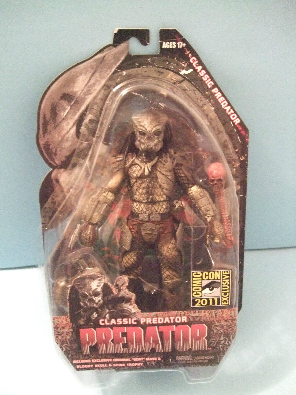 Classic Predator in Gort Mask Figure 2011 SDCC Exclusive  by Neca