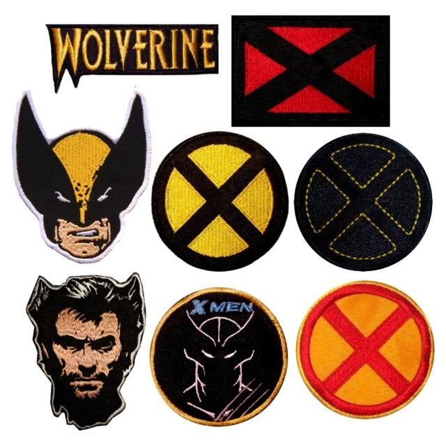 Xavier/'s School Yellow Logo Embroidered Patch Marvel Comics X-men Cyclops Rogue