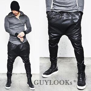 leather harem pants men - photo #5