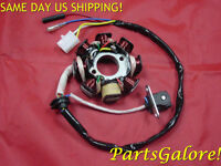 8 Coil 5 Wire Stator, 50 50cc Gy6 Qmb139 Honda Chinese Scooter Atv