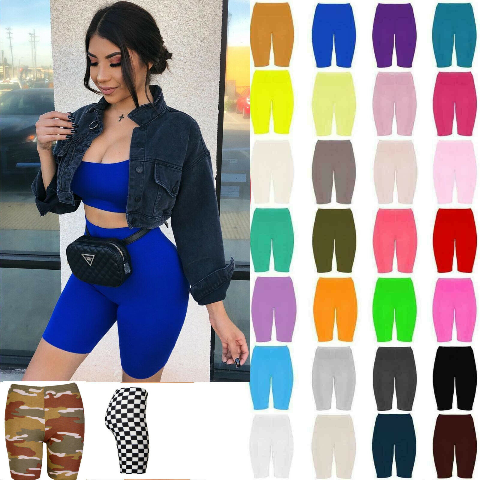 Womens Black Slinky Square Scoop Neck Crop Top Size 8 10 Bra bralette bikini