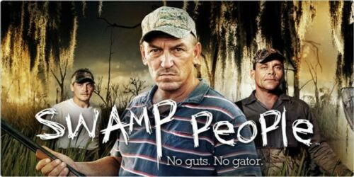 Swamp People Photo License Plate