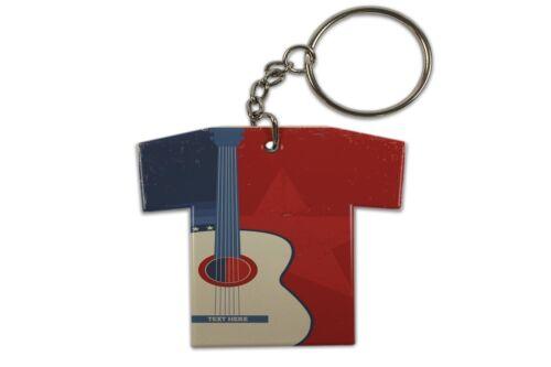 Schlüsselanhänger Küche Gitarre Trikot bedruckt