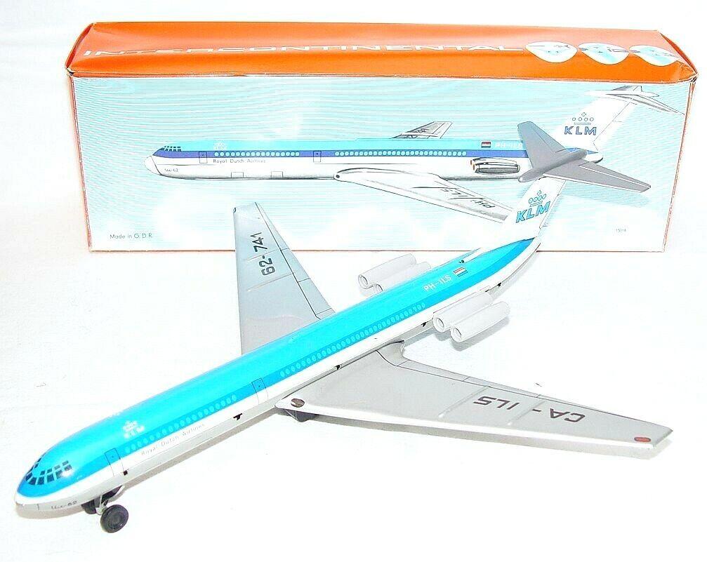 gran venta VEB RDA líneas aéreas holandesa KLM DC-8 Douglas pasajero pasajero pasajero avión real MB`70 Muy Raro  la mejor oferta de tienda online
