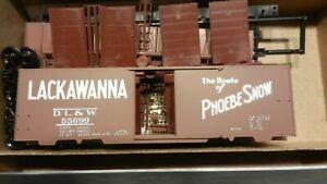 Front-Range-HO-Lackawana-034-Phoebe-Snow-034-ACF-Welded-40-039-Boxcar-Kit-NIB