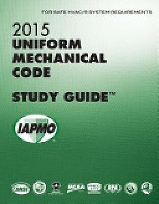 2015 Uniform Mechanical Code Study Guide EBay