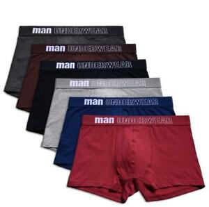 Boxer-mens-underwear-cotton-underpants-male-pure-shorts-underwear-boxer-S-XXXL