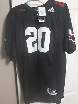 NWT Adidas Nebraska Cornhuskers #20 Blackshirts Football Jersey Size XL 194814465053   eBay