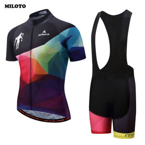 59620bdb3 MILOTO Team Mens Cycling Ropa Ciclismo Bike Short Sleeve Clothing ...