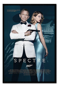 Framed James Bond Spectre One Sheet 007 Film Poster New Ebay