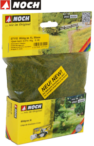 NOCH-07110-Wild-Growing-Grass-XL-034-Meadow-034-12-MM-40-G-100-G-New-Boxed