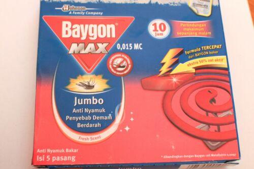 EUR 0,25 Euro//Unité BAYGON Moustiques spirale frischeduft