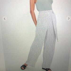 Pantalones De Pierna Ancha Forever 21 Talla S Ebay