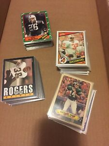 1982-1983-1984-1985-1986-Topps-Football-Complete-Your-Set-You-Pick-10-lot-EX-MT