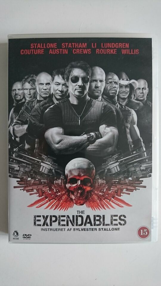 The Expendables, instruktør Sylvester Stallone, DVD