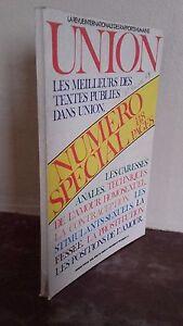 Union Las Mejores Las Textos Publicado Numero Special Revista Mensual 1978 IN 8