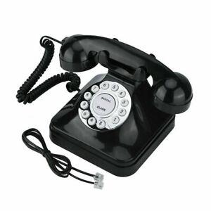 Wx 3011 Vintage Black Multi Function Home Telephone Retro Wire Landline Phone Uk 741870700248 Ebay