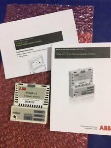 NEW-ABB-FENA-01-11-21-TYPE-FENA-11-ETHERNET-ADAPTER-KIT-MODULE-X1-NETWORK