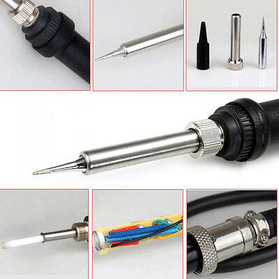 60W 24V Soldering Station Iron Handle Accessories for 852D 936 937D 898D 937D