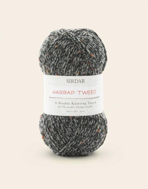 Sirdar Harrap Tweed DK Shade 100 Simpson x 50g
