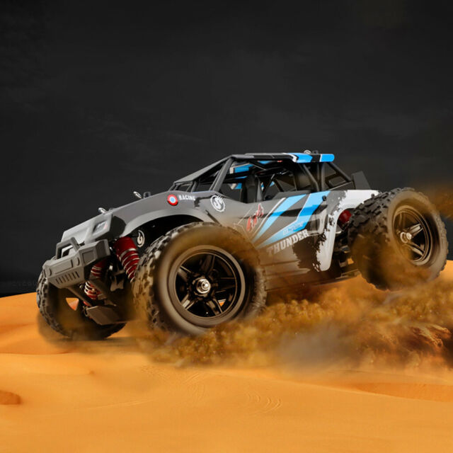 50KM//H 1:18 2.4G 4WD 6CH Off-Road High Speed Remote Control Large RC Racing Car