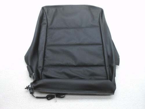 NOS VW Jetta SDN Left or Right Lower Front Seat Black Leather Cover w// Heat