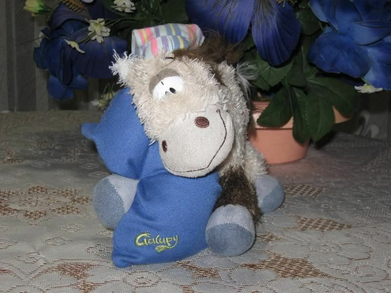 Diddl Sleeptime Galupy Horse Depesche Germany Vintage