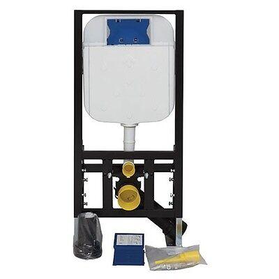WC Vorwandelement Spülkasten Hänge Wand Unterputz Toilette Bad 1100-1210 mm