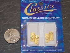 Dollhouse Miniature Hardware Crystal Door Knobs Set 1:12 scale B2 Dollys Gallery