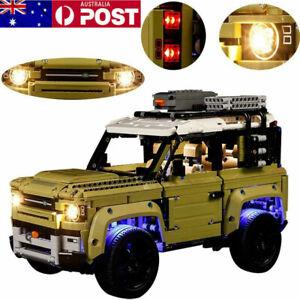 For-42110-Land-Rover-Defender-Car-Bricks-Set-RC-LED-Light-Lighting-Kit-ONLY