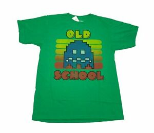 Pacman-Men-039-s-T-Shirt-Old-School-Atari-Retro-Vintage-Arcade-Video-Game