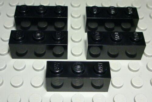 Lego Stein 1x3 Schwarz 5 Stück 341