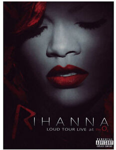 DVD-RIHANNA-LOUD-TOUR-LIVE-AT-THE-O2-neuf-new-sous-blister