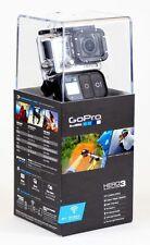 GOPRO HD HERO3+BLACK EDITION HELMET CAMERA HD AV/BONUS RAGECAMS BATTERY+LENS CAP