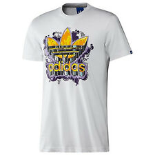 Adidas Originals OLD SCHOOL TREFOIL GRAFFITI Shirt Hip-Hop superstar Top~Men XL