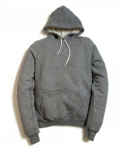 American Apparel Classic Sweat Heavy grau French Terry Hoodie HVT495 Pullover