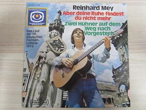 Single / Reinhard Mey ?– Aber Deine Ruhe Findest Du Nicht Mehr / 1973 / RAR /