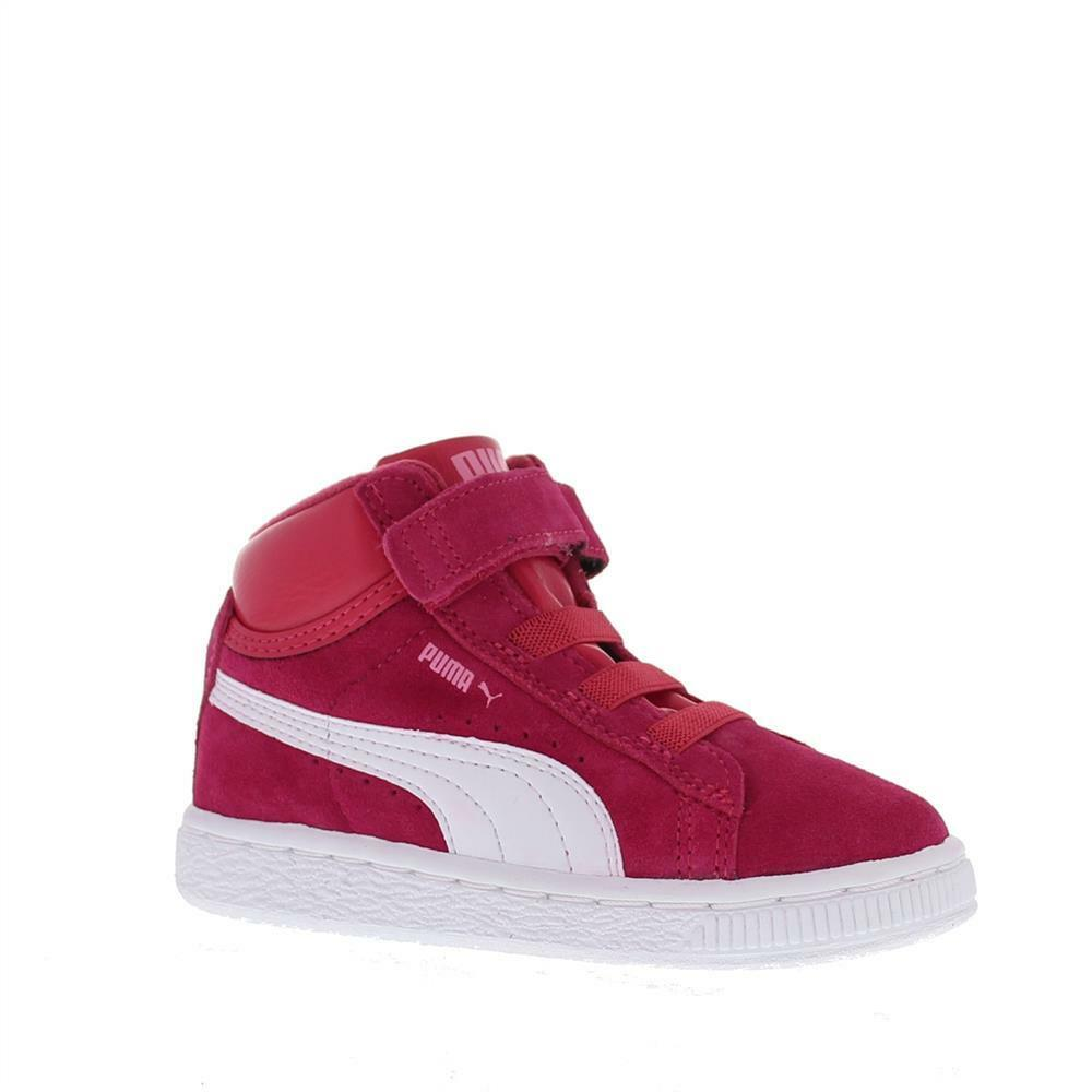 FW15 PUMA MID V KIDS SUEDE SUEDE KIDS SNEAKERS GYM SHOES GIRL 350454 10 1edd73