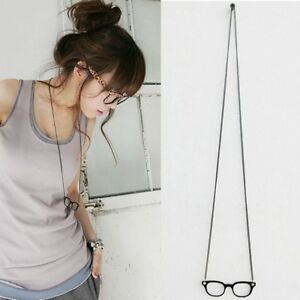 Eyeglasses Jewelry Charm Costume Sweater Chain Necklace Glasses Pendant
