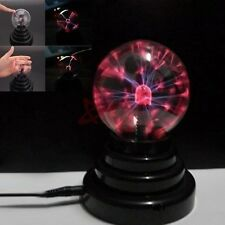 USB Touch Lightning Plasma Ball Sphere Orb Desk Lamp Novelty Current Desk Light