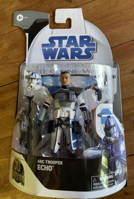 """Star Wars Black Series Clone Wars Arc Trooper Echo 6"""" Target Exclusive In Hand"""