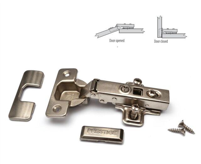 30 X GTV SOFT CLOSE 35mm KITCHEN CABINET DOOR HINGE PLATE U0026 SCREWS