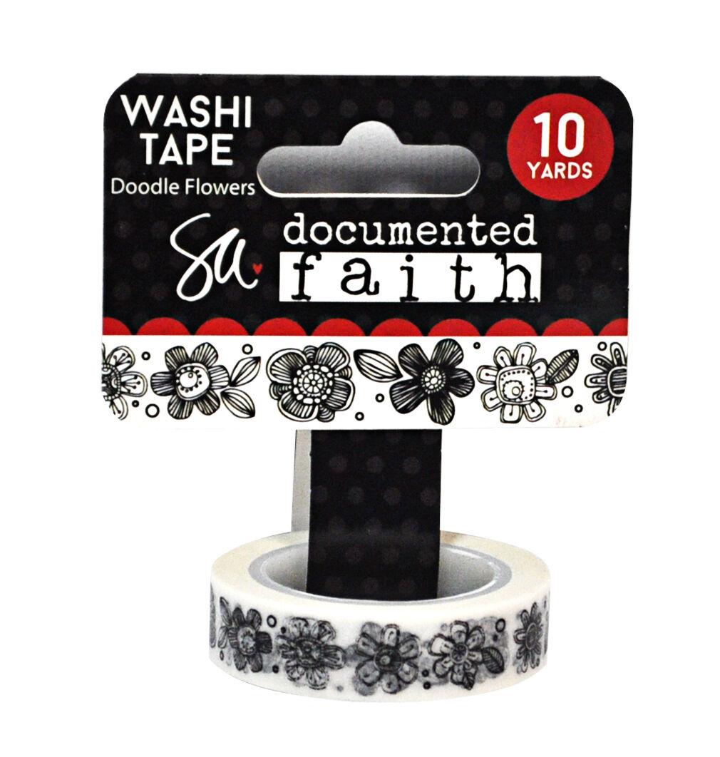3 Rolls Japan Washi tape Green Leaves Flowers Bubbles 10mm x 5m x 3 MT381