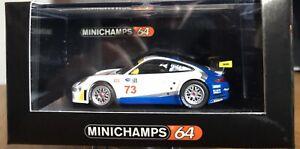 Rare-PORSCHE-911-Minichamps-No73-1-64-Race-Series-Sin-Abrir-Pedido-MIB-Ltd-editar